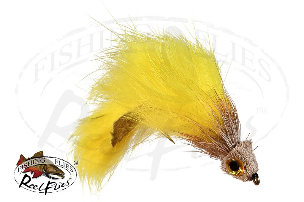Zonker Muddler Yellow