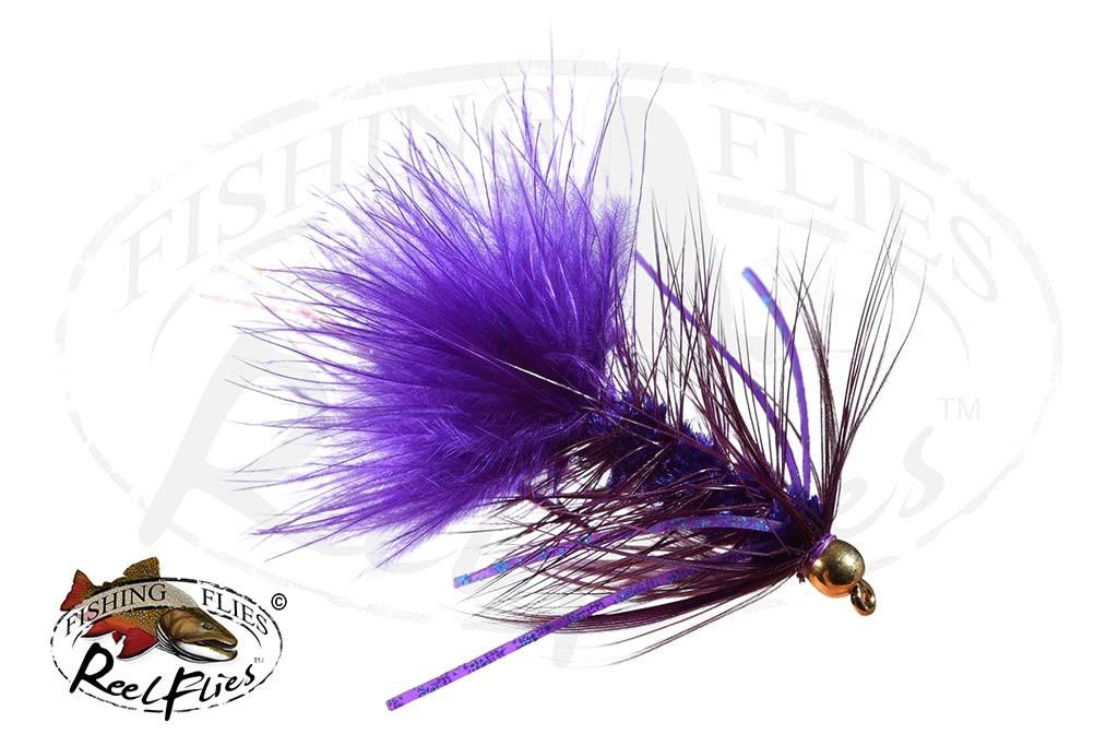Purple Rubber Legged BuggerPurple Rubber Legged Bugger