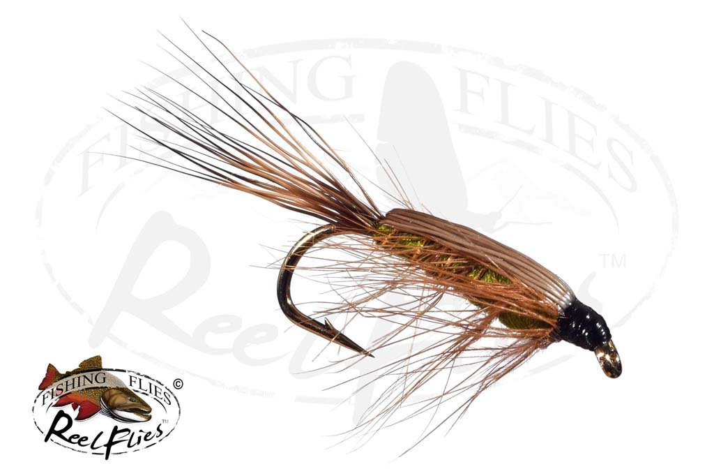 Tied Down Caddis Olive