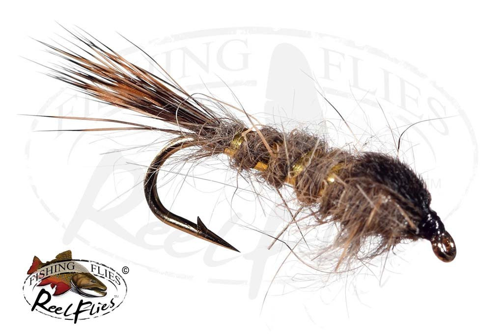 Hare's Ear Gold Ribbed