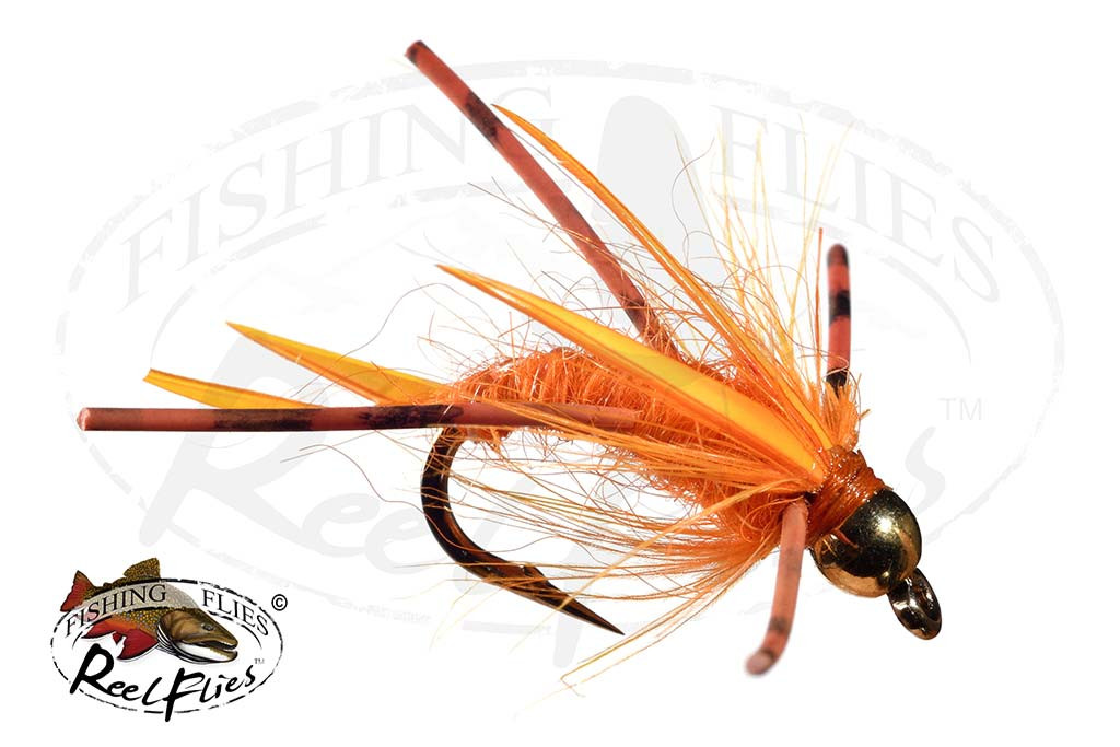 Steelhead Predator Nymph Orange