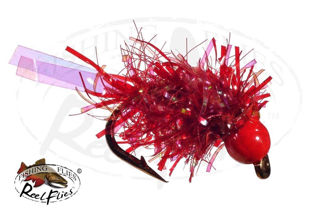 Tungsten Trout Tickler Blood Red