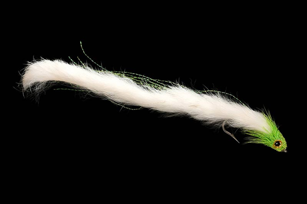 Slinky Leech Chartreuse White