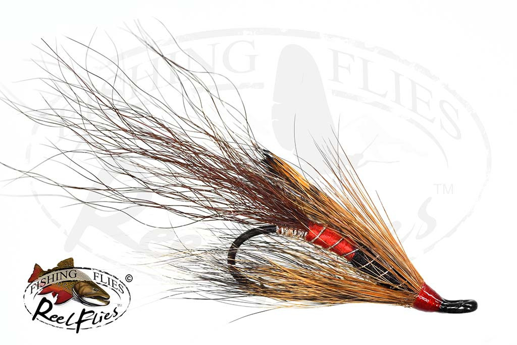 Allys Shrimp Brown Salmon Fly