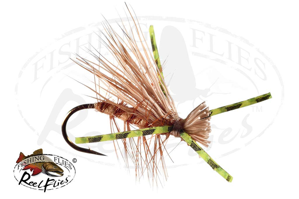 Psycho Caddis Tan