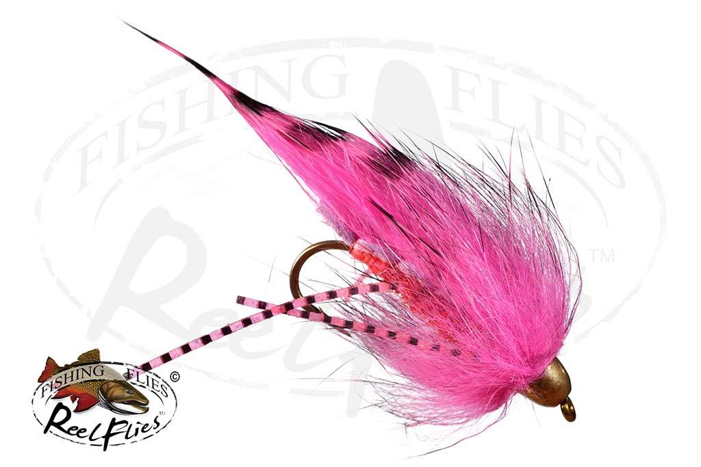 Black Barred Hot Pink Zonker