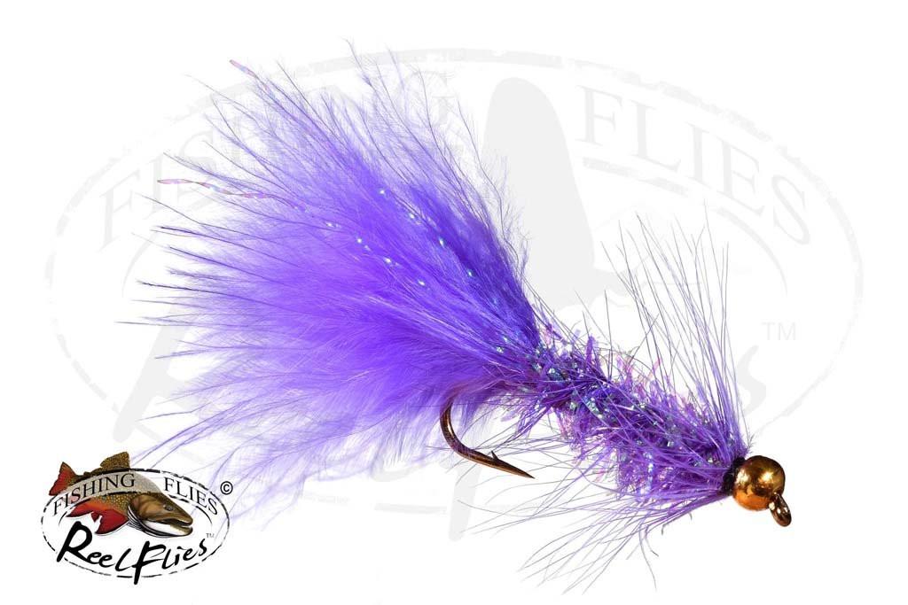Beadhead Krystal Bugger Purple