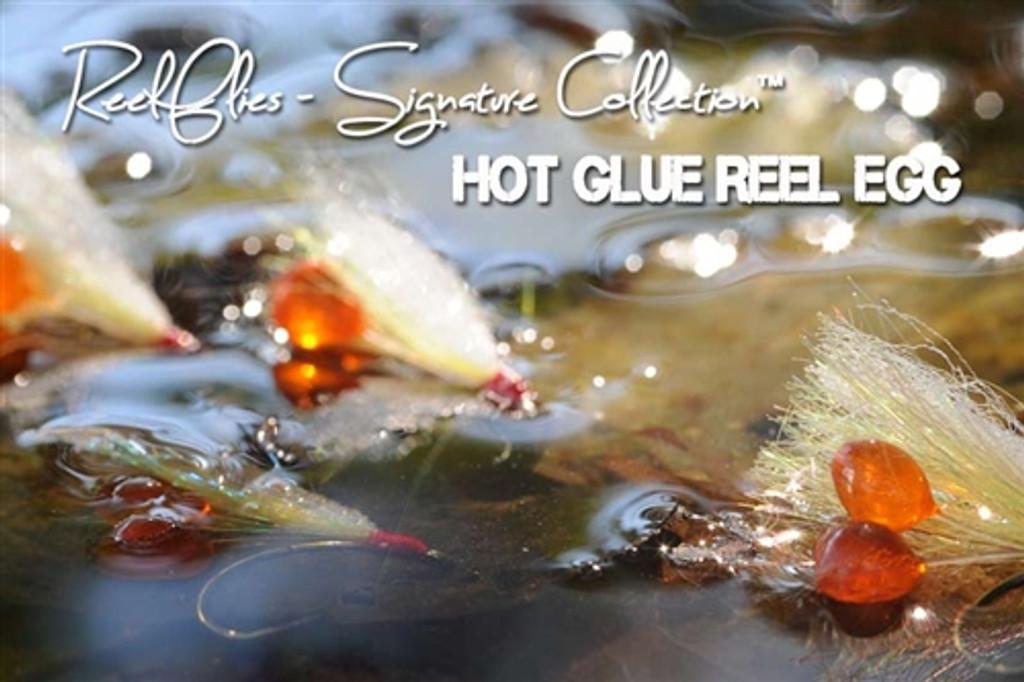 Hot Glue Reel Egg Triple Steelhead Fly