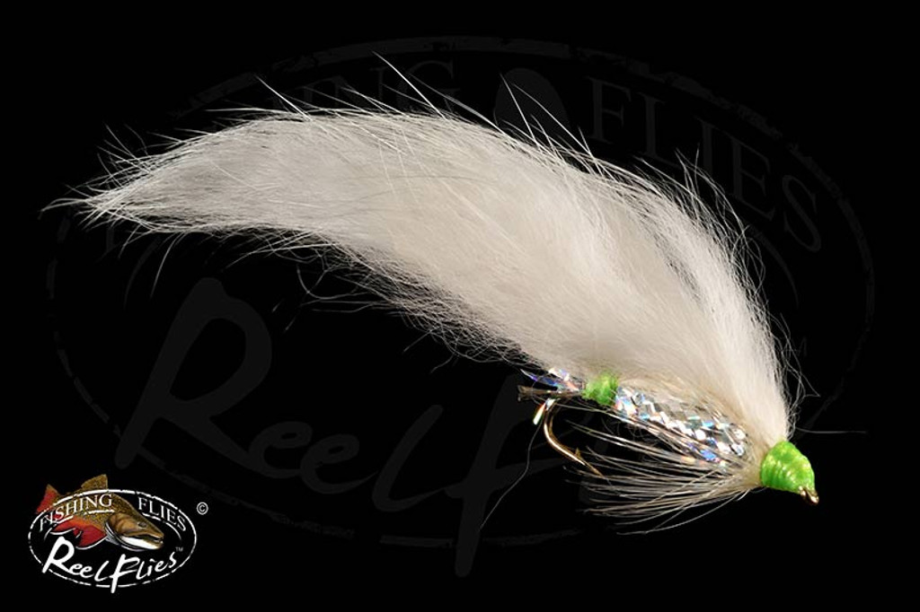 Zonker White Chartreuse Head