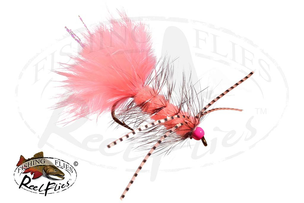 Shrimp Pink Rubber Legged Bugger