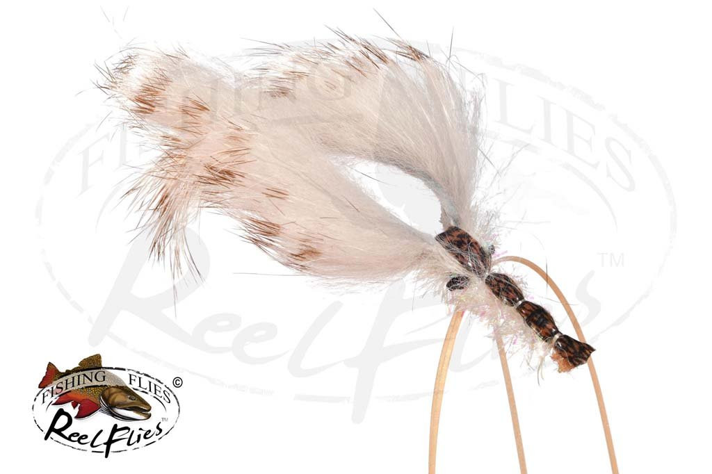 Reelflies Krystal Flash Hardshell Tan Crayfish
