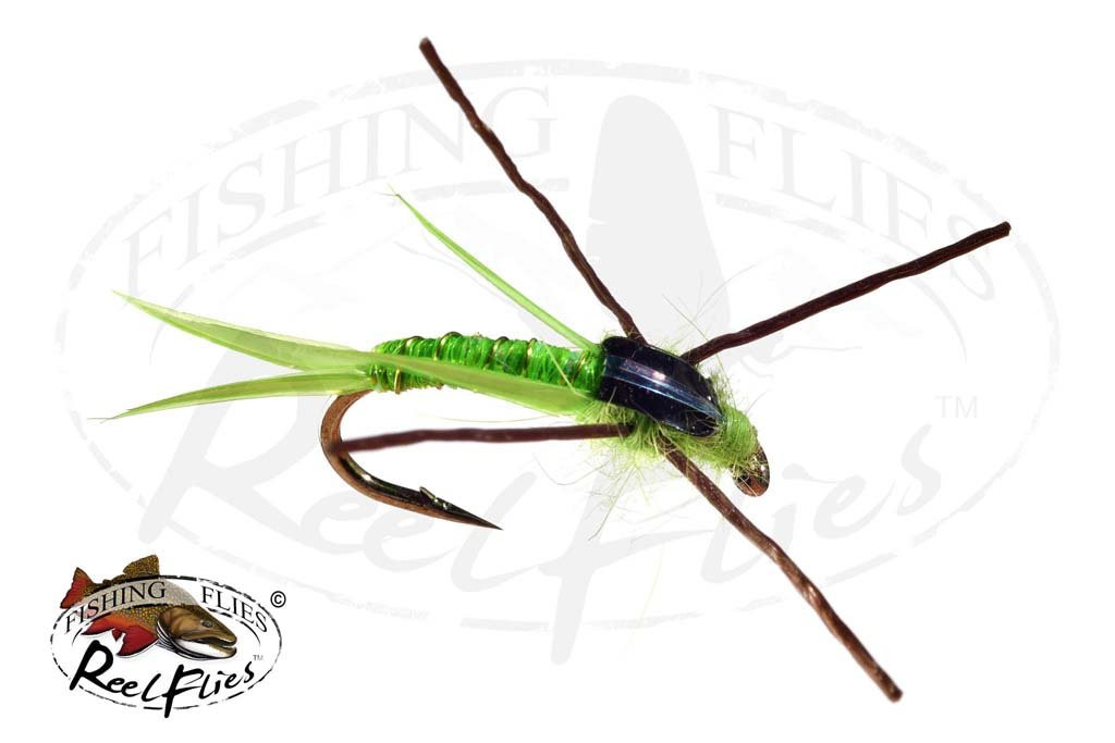 Steelhead Seducer Nymph Chartreuse