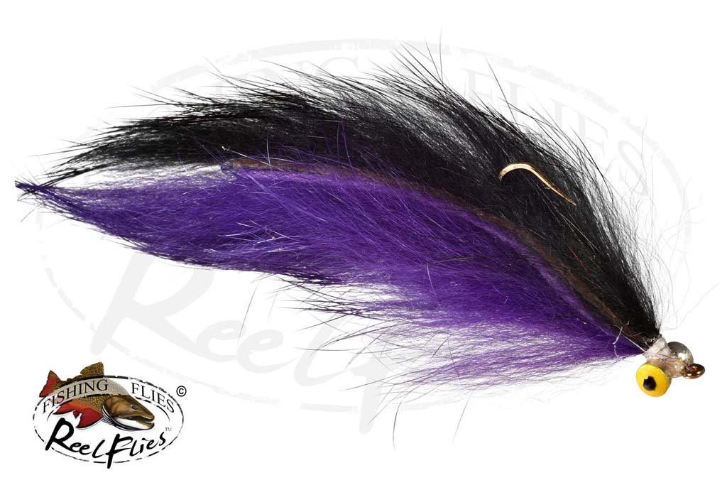 Double Bunnies Purple Black