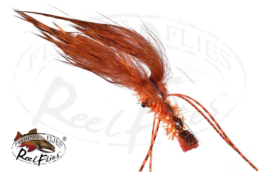 Reelflies Krystal Flash Hardshell Orange Crayfish