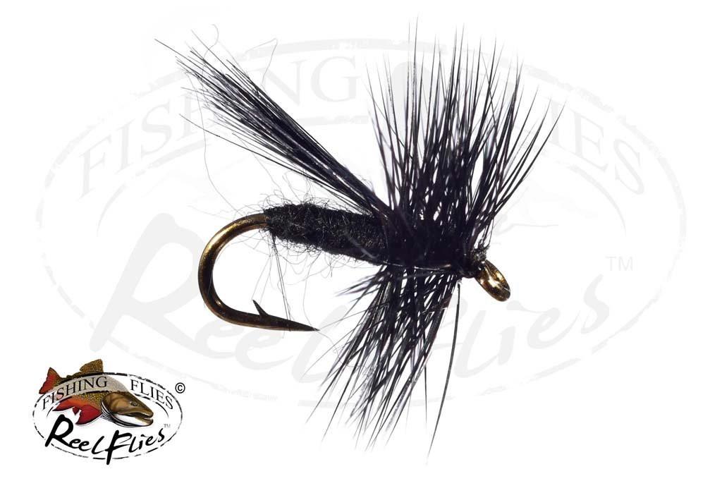 Fluttering Caddis Black