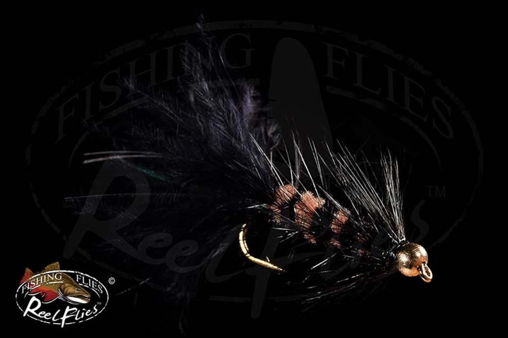 Beadhead Black Beaver Fly