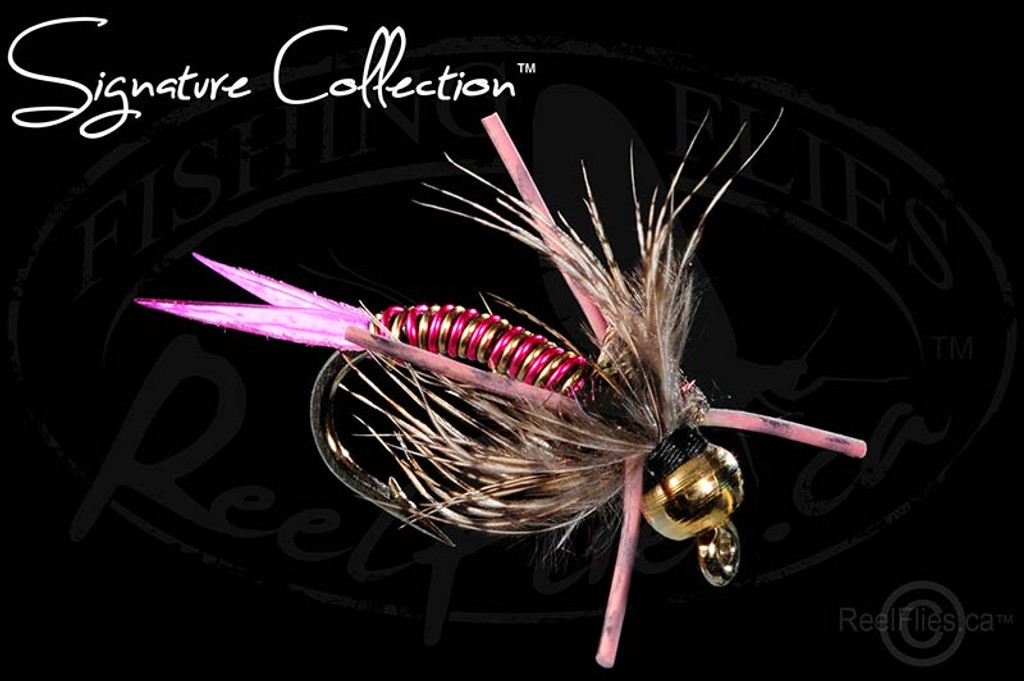 Steelhead Poacher Nymph Pink