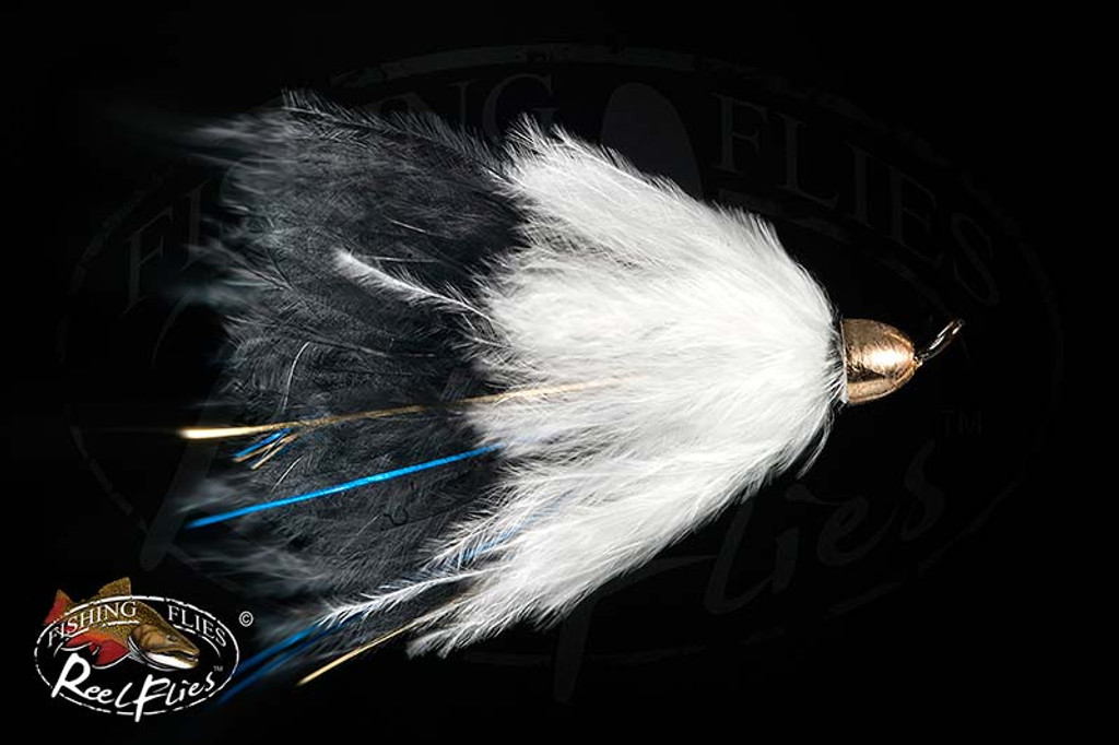 CH Popsycle Black White Streamer Fly