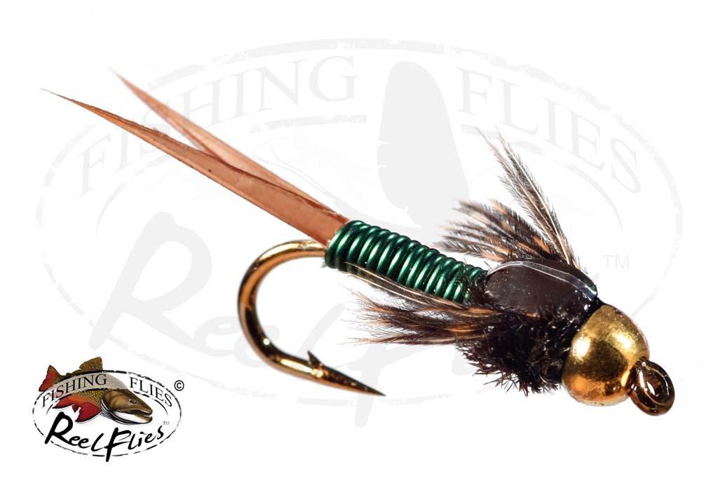 Beadhead Copper John Green