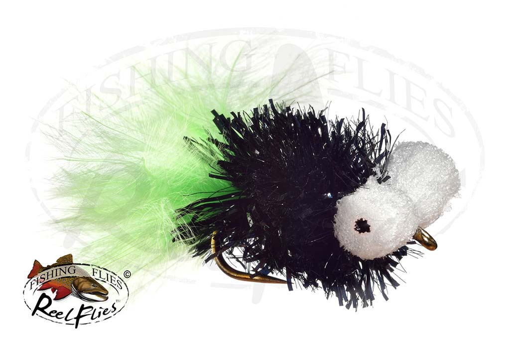 Mega Booby Black & Green Fly