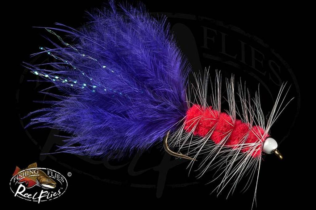 Pink and Purple BeadHead Woolly Bugger