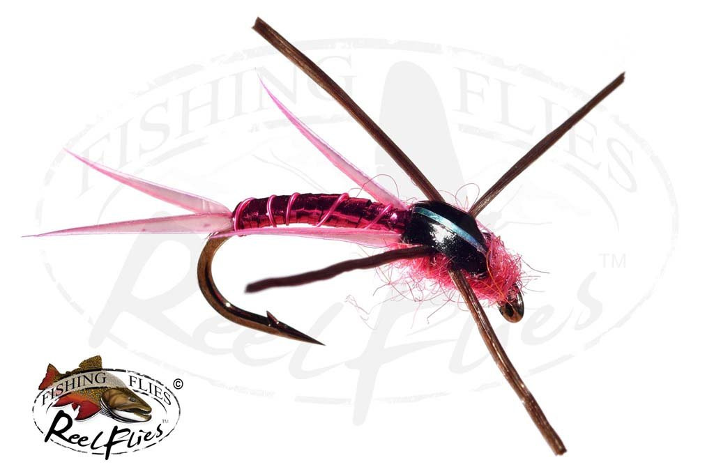 Steelhead Seducer Nymph Pink
