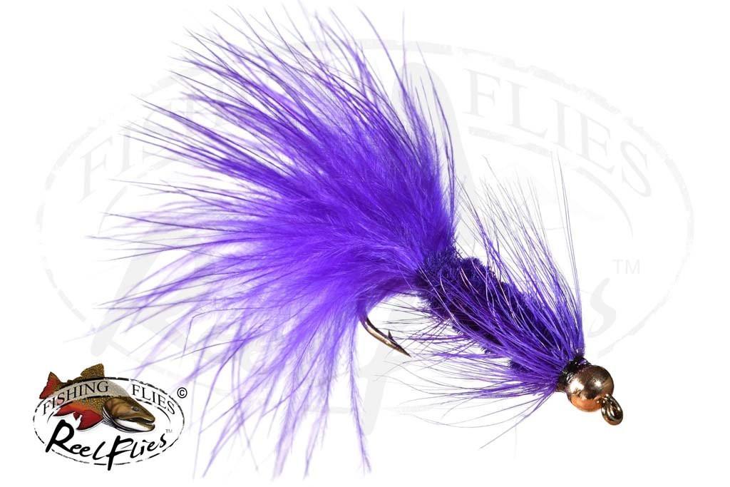 Beadhead Woolly Bugger Purple