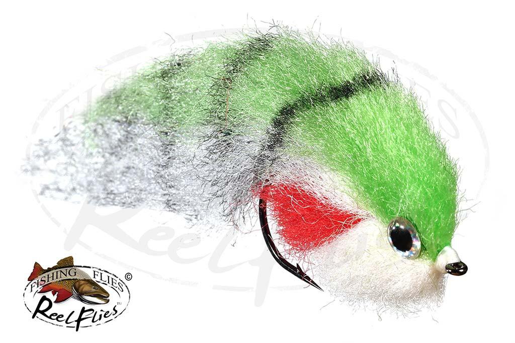 Fat Head Baitfish Chartreuse - RF-7046
