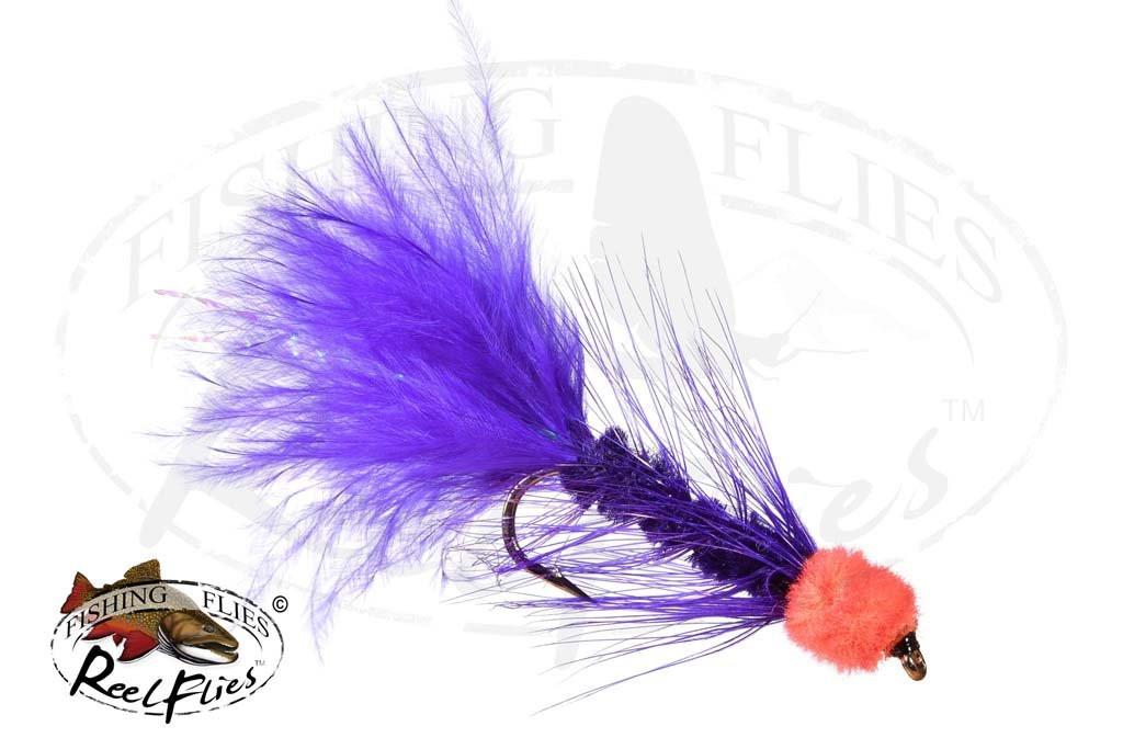 Egg Sucking Leech Purple - Orange Head