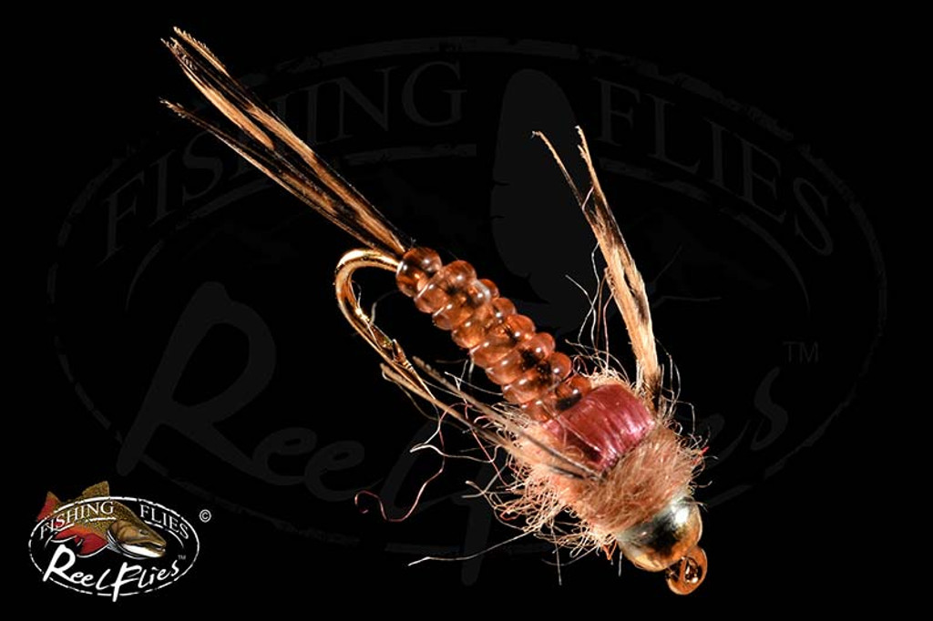 BH ReelFlies™️ Ginger Quill Mayfly Nymph Fly
