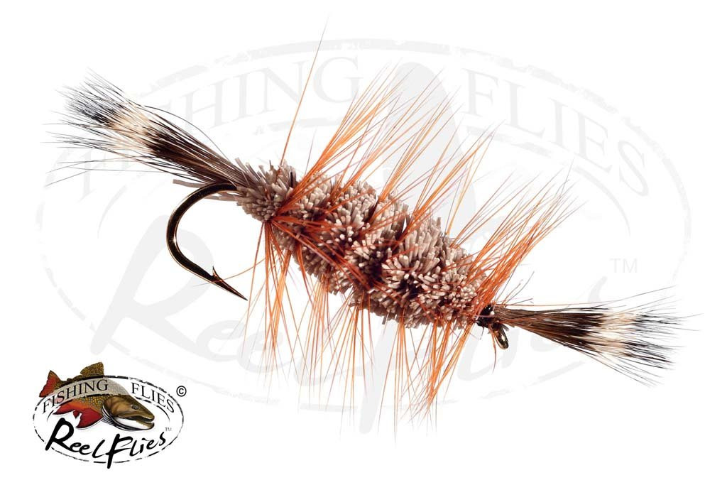 Bomber Brown Natural, Brown Hackle Natural Head & Tail