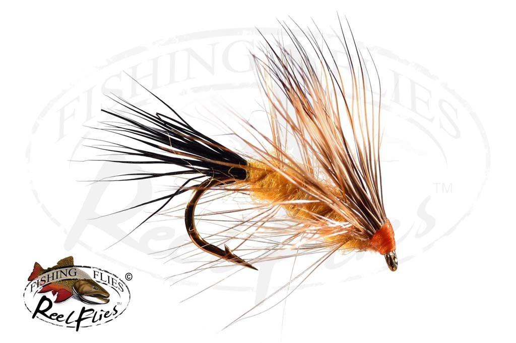 Bucktail Caddis Orange