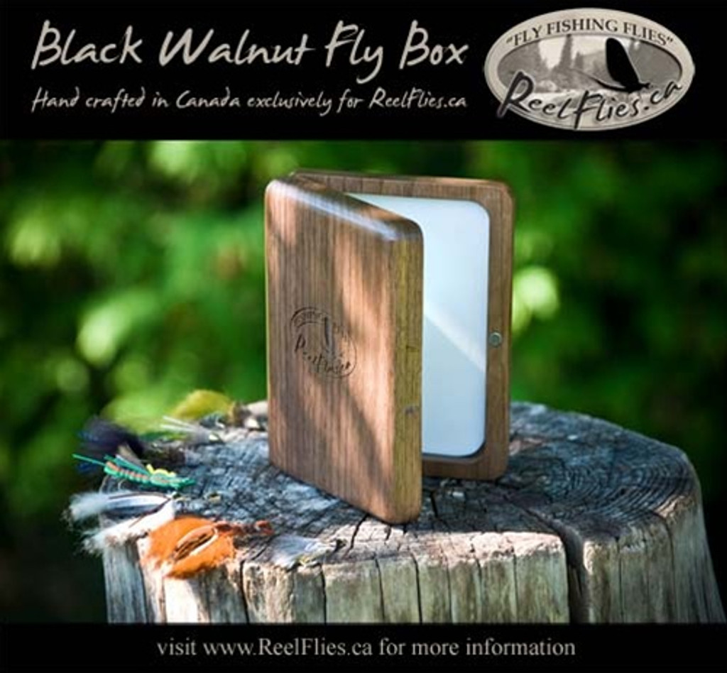 Black Walnut Fly Box