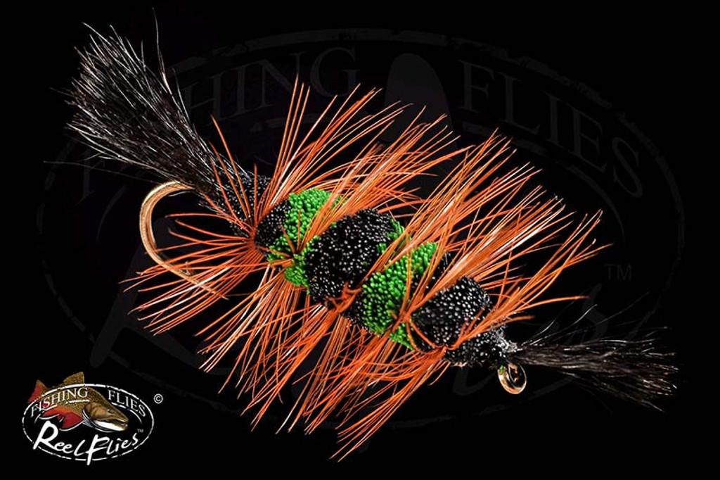 Bomber Black & Green Bumblebee