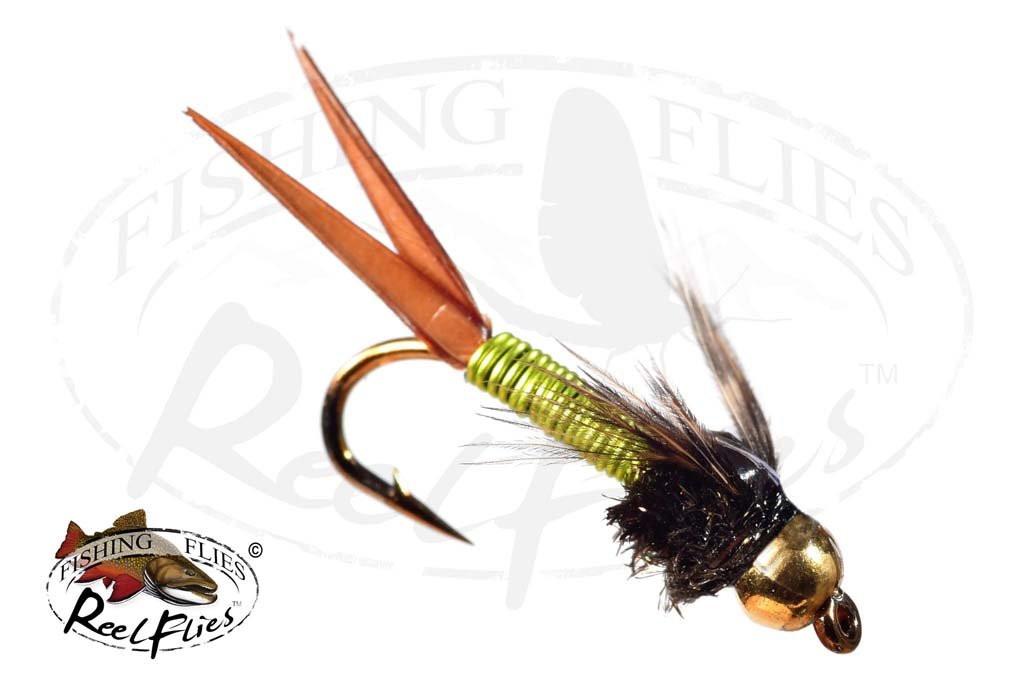 Beadhead Copper John Chartreuse