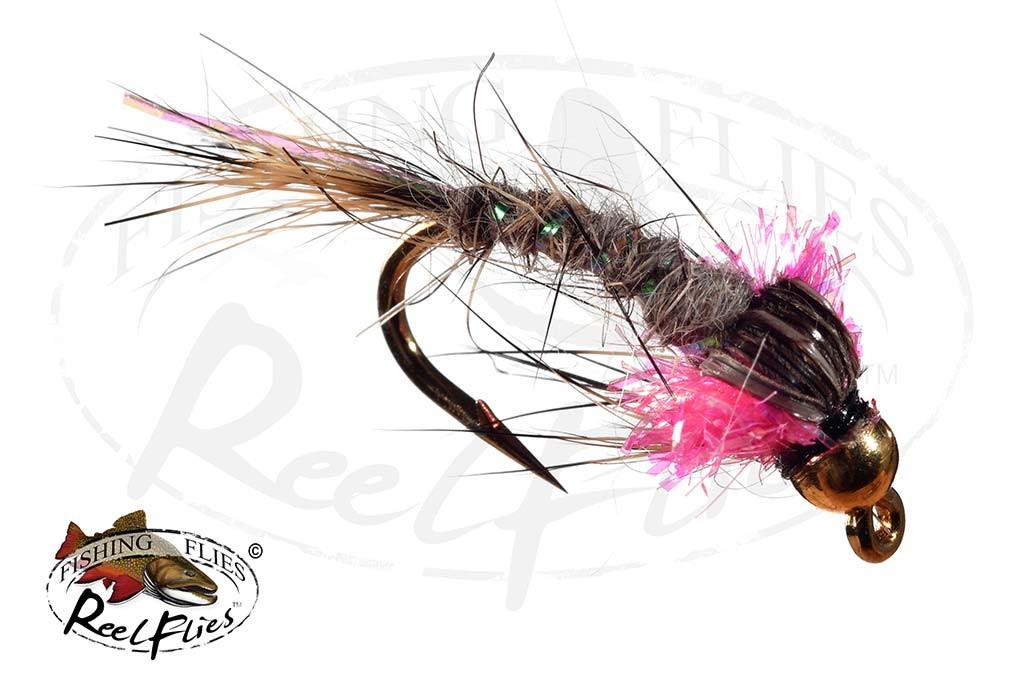 ReelFlies™ Hares Ear Pink