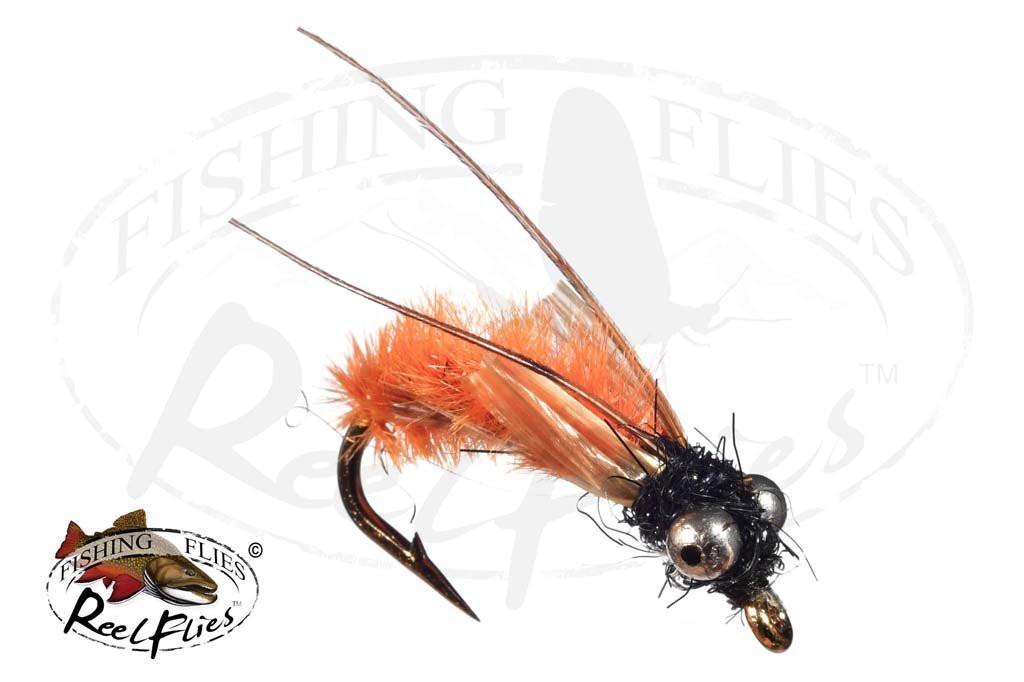 Steelhead Caddis Orange