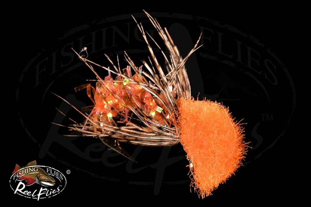 ReelFlies™️ Orange Caddis