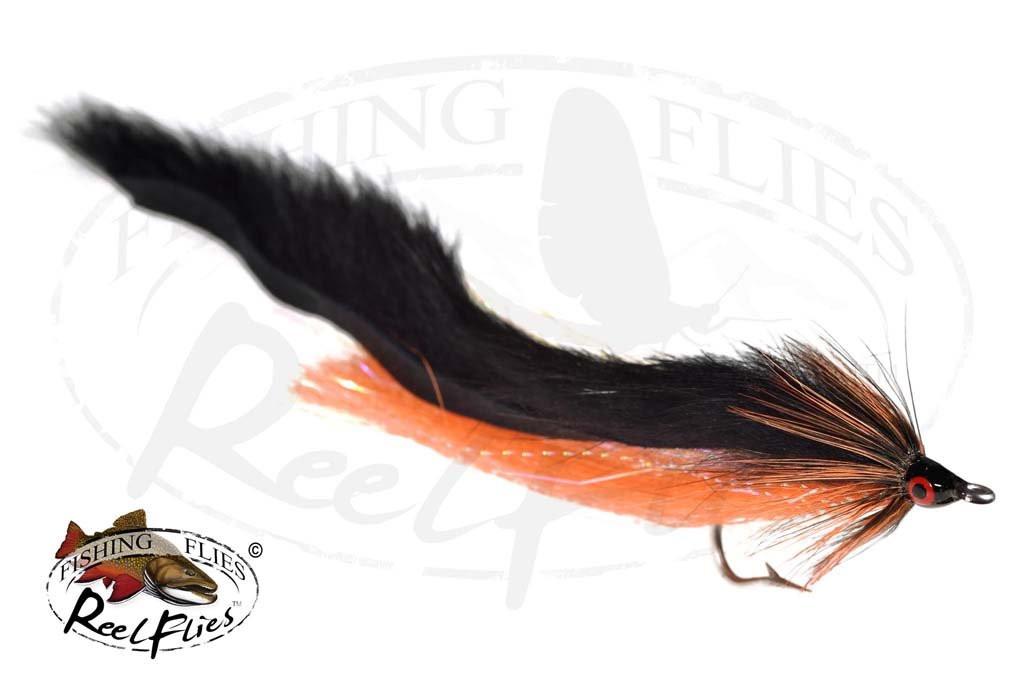 Black Orange Bunny