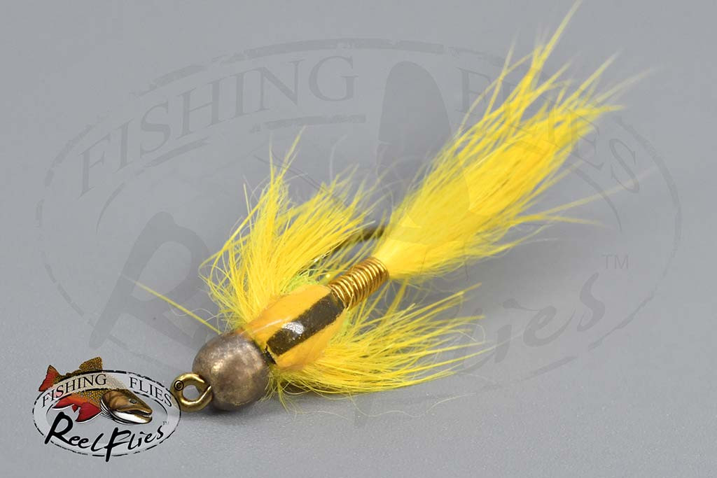 ReelFlies Stream-R-Nymph Yellow - RF-9367