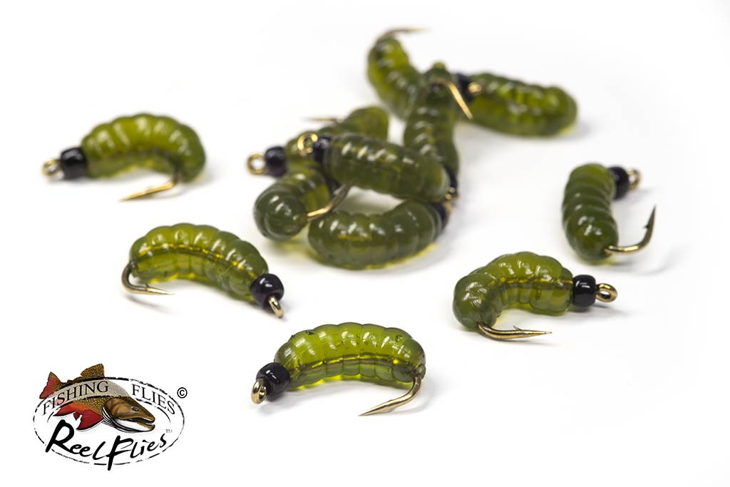 ReelFlies Rubber Grub Flies