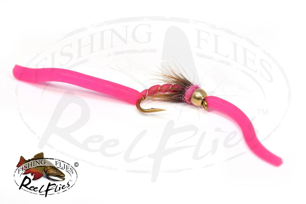 Psycho Squirmy Worm Pink