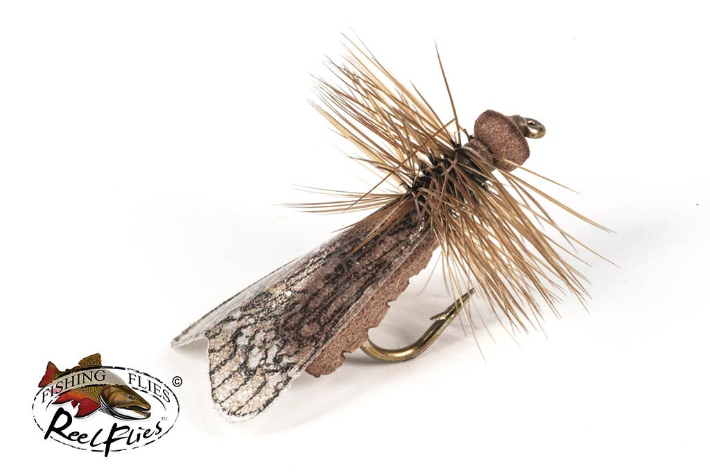 Realistic Brown Caddis Fly
