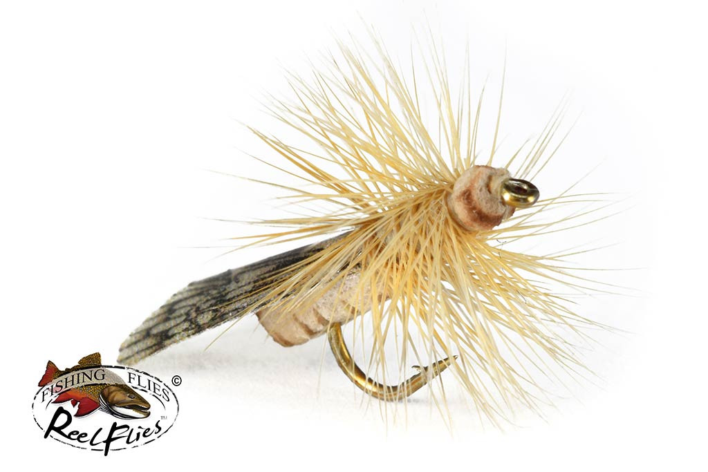 Realistic Tent Wing Caddis Tan