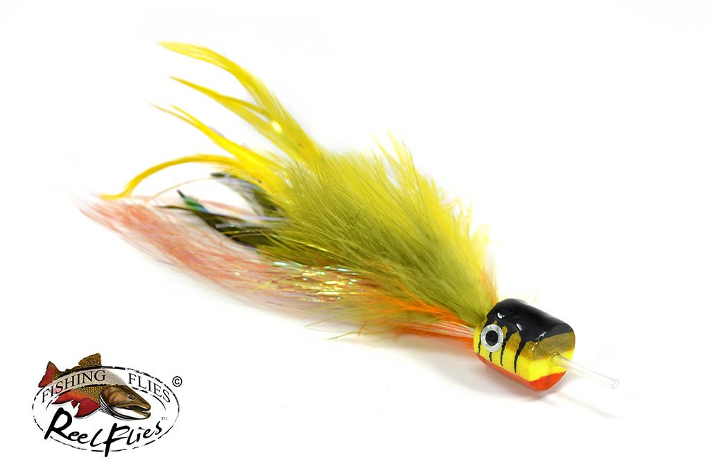 Salty Jacks Popper Fly Perch