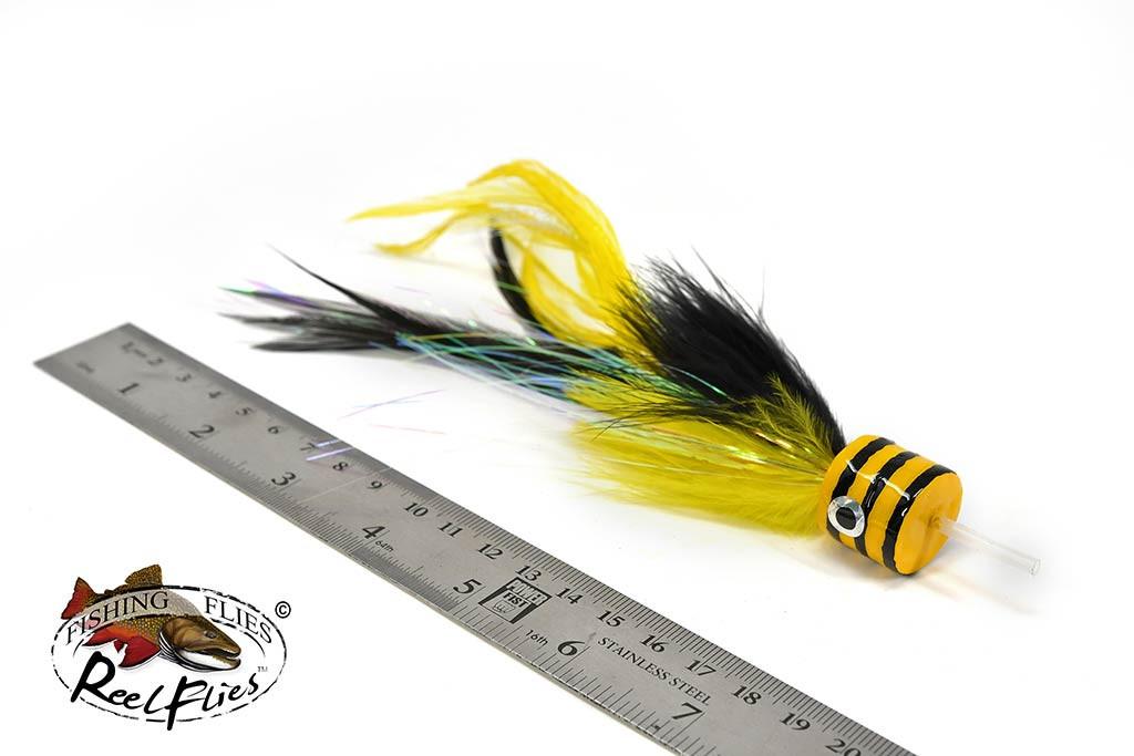 Salty Jacks Popper Fly Bee