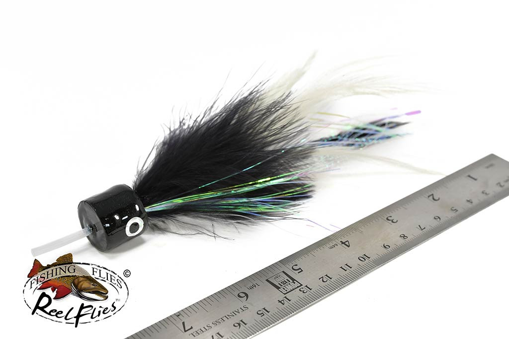 Salty Jacks Popper Fly Black