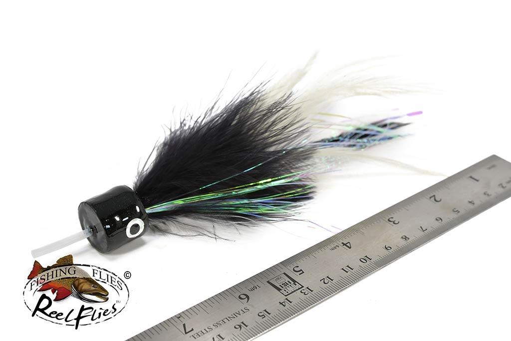 Salty Jacks Popper Fly Black