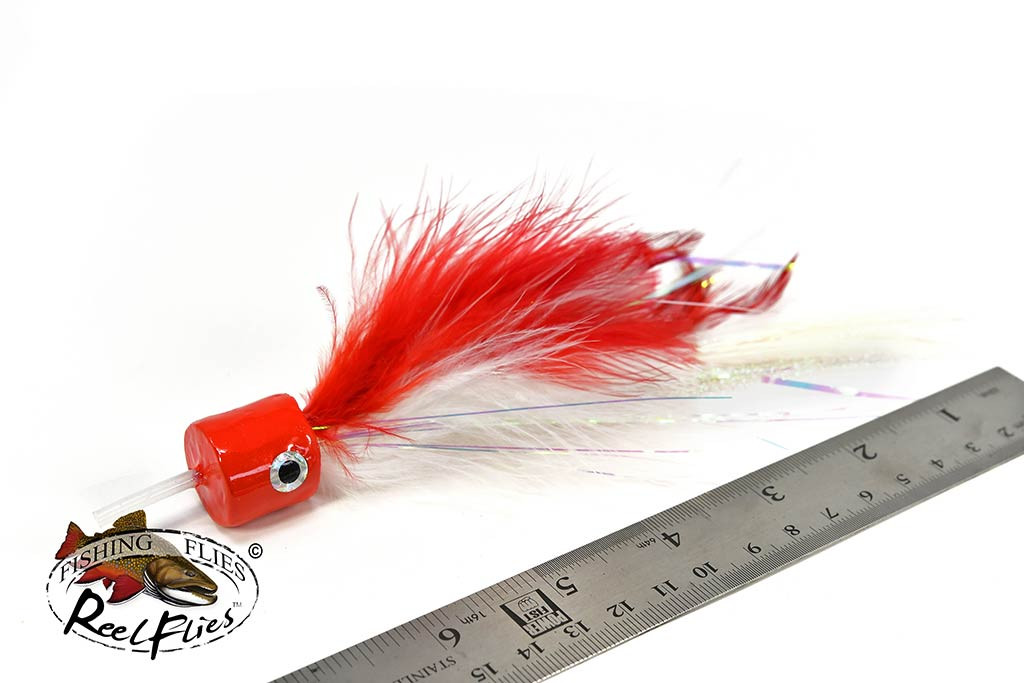 Salty Jacks Popper Fly Red