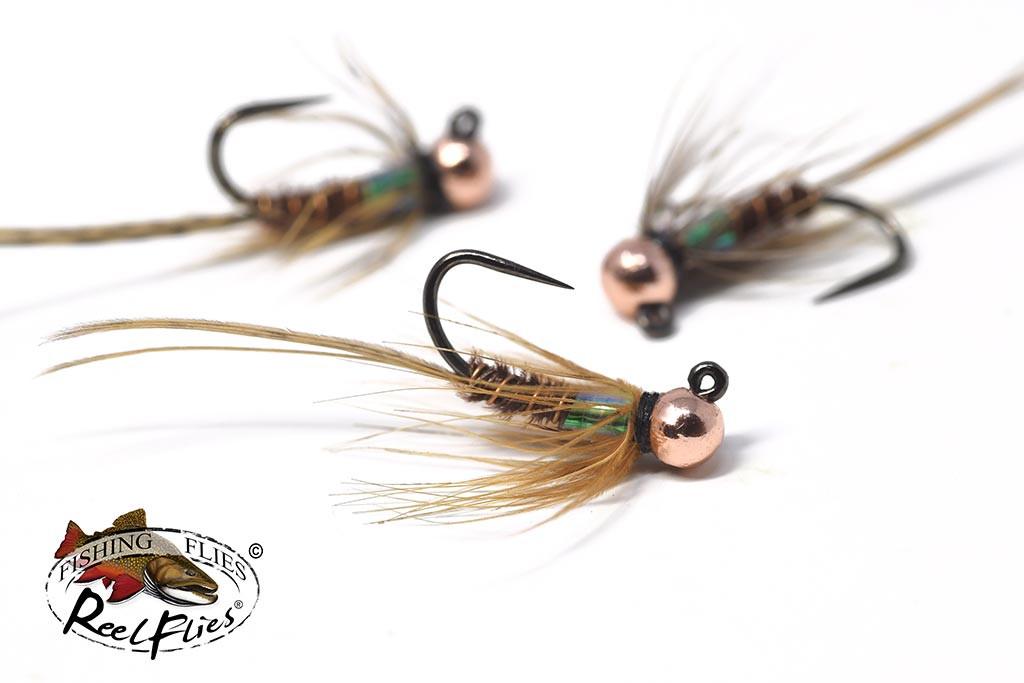 Flash Back Pheasant Tail Tungsten Euro Nymphs